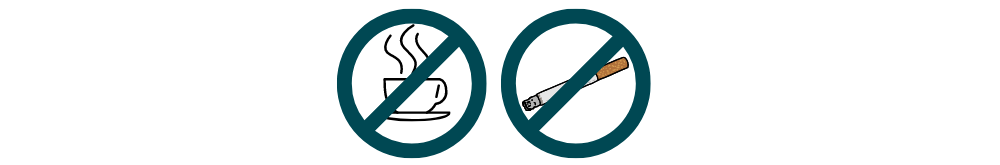 cutout Caffeine and Nicotine icon